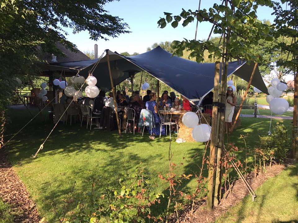 outdoor wedding - Buiten trouwen - Buiten feesten